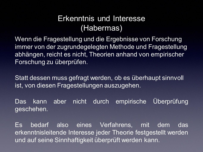 Erkenntnis und Interesse (Habermas)