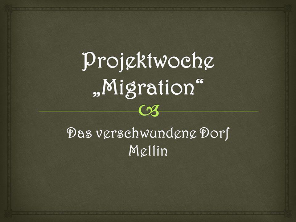 """Projektwoche """"Migration"""