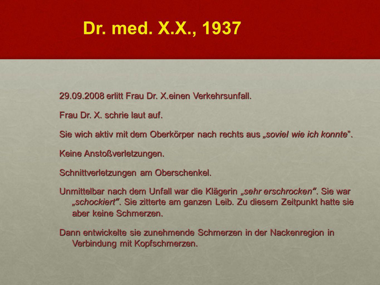 Dr. med. X.X., 1937
