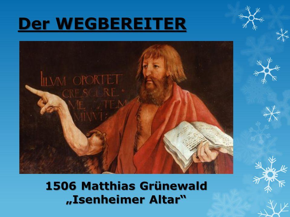 """1506 Matthias Grünewald """"Isenheimer Altar"""