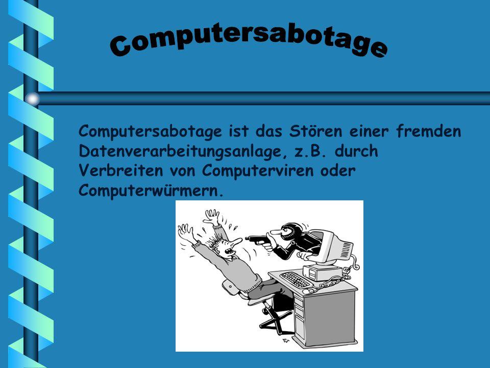 Computersabotage