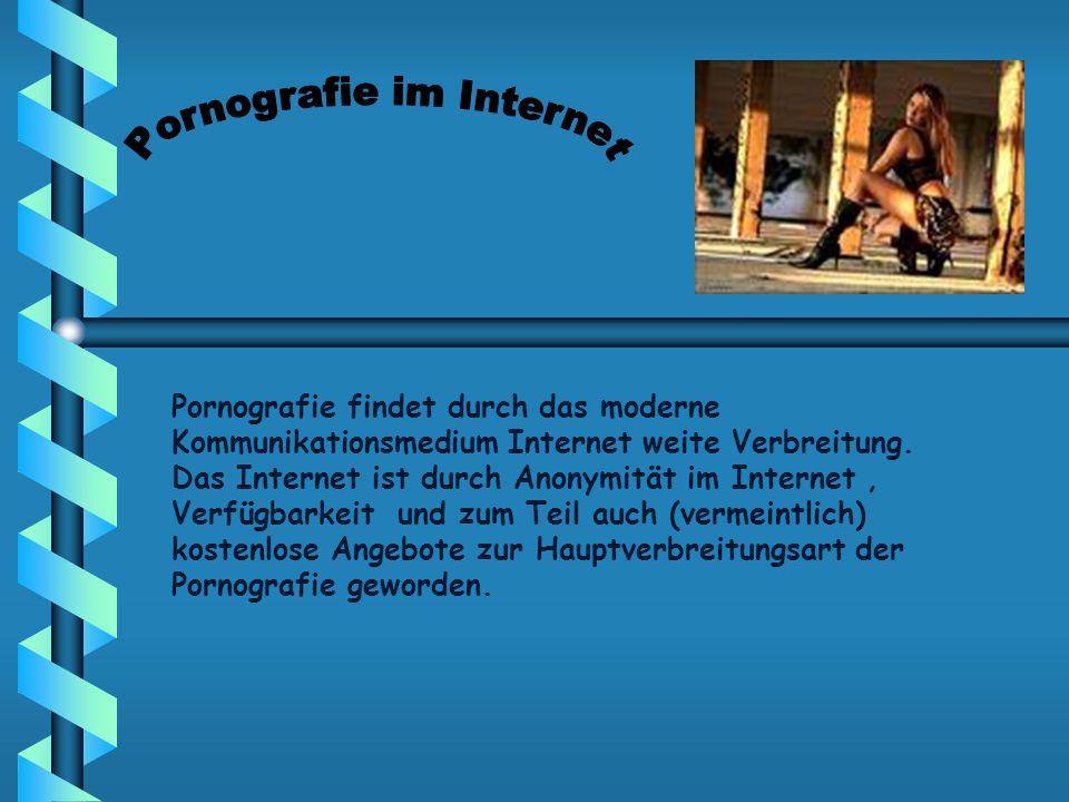 Pornografie im Internet