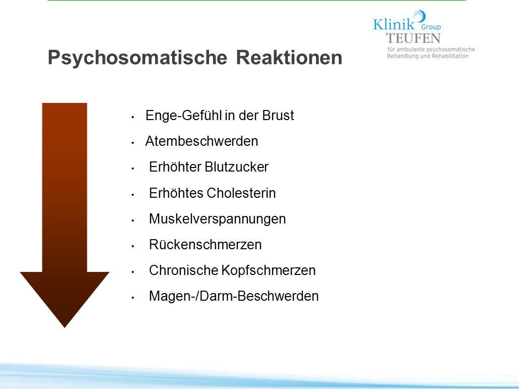 Psychosomatische Reaktionen