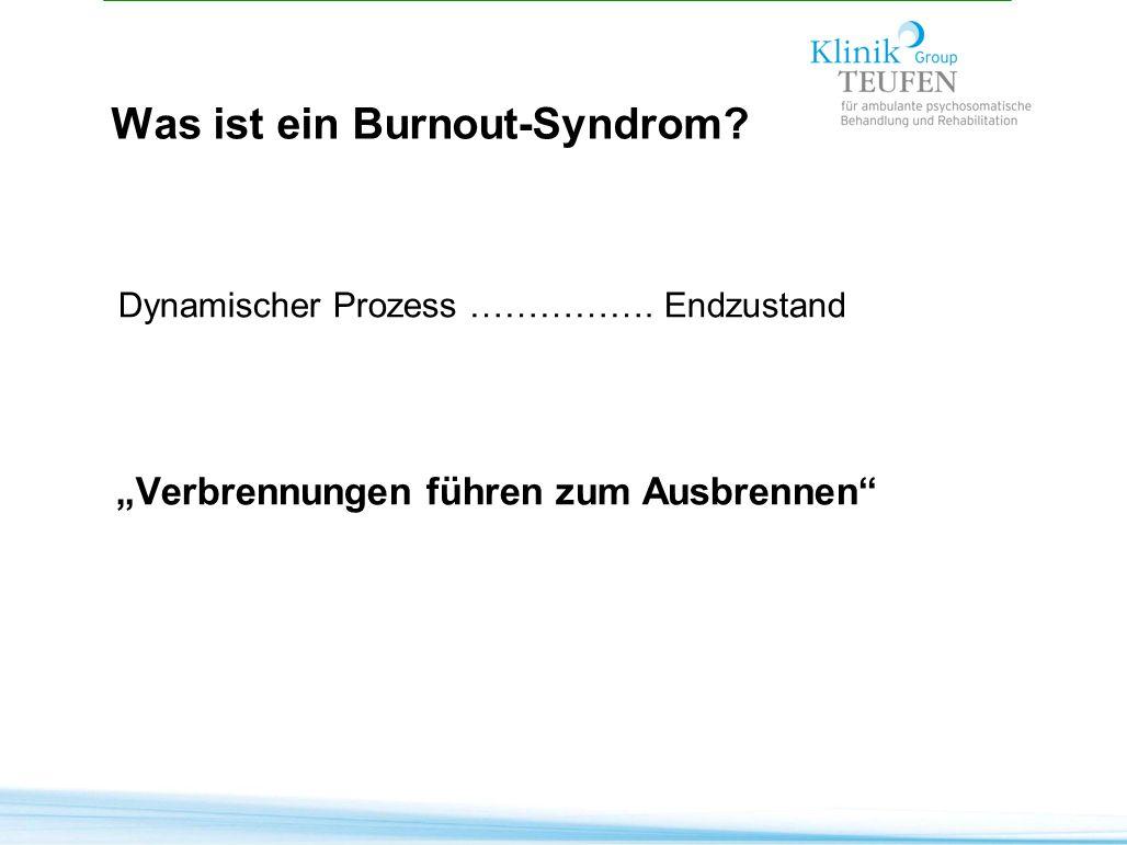 Was ist ein Burnout-Syndrom