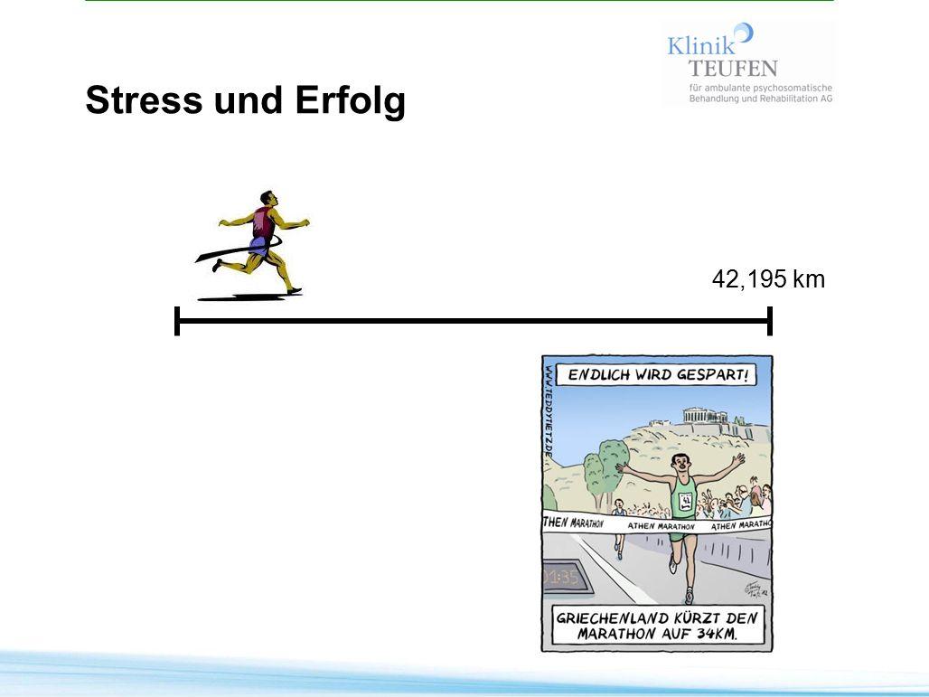 Stress und Erfolg 42,195 km