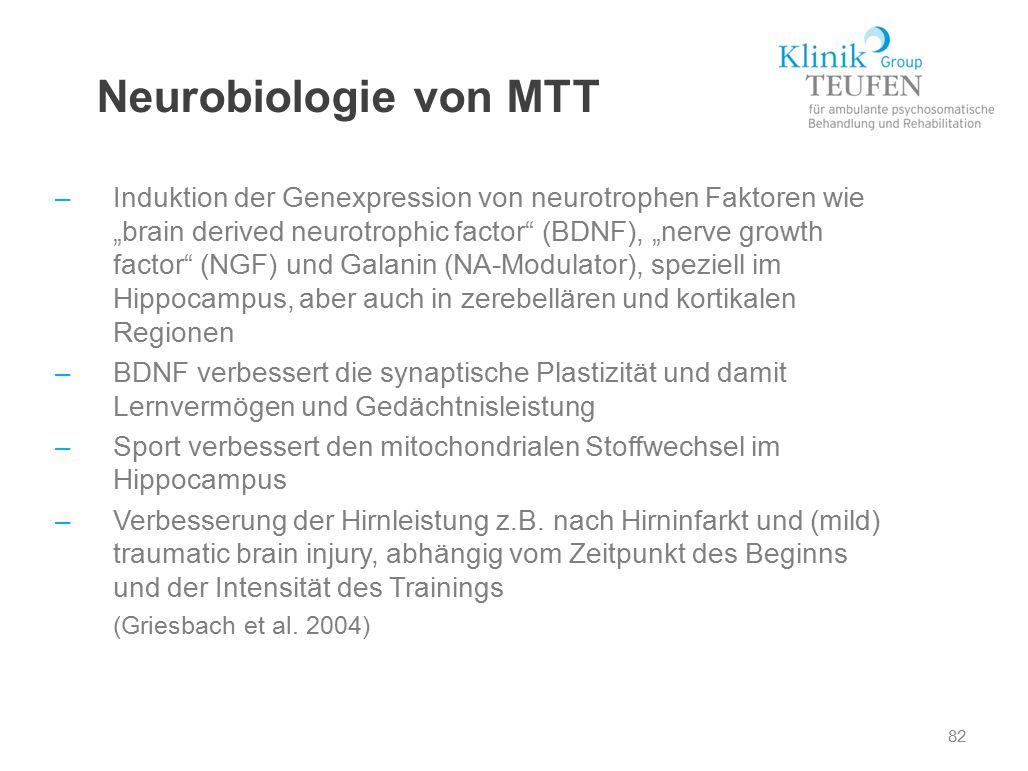 Neurobiologie von MTT