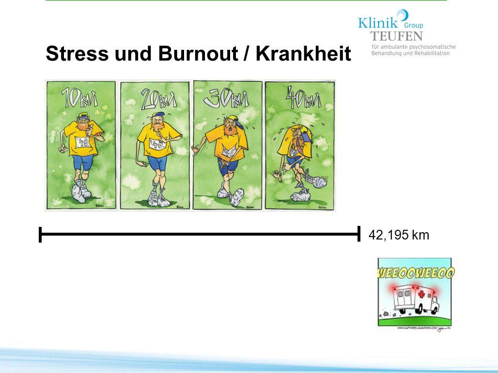 Stress und Burnout / Krankheit