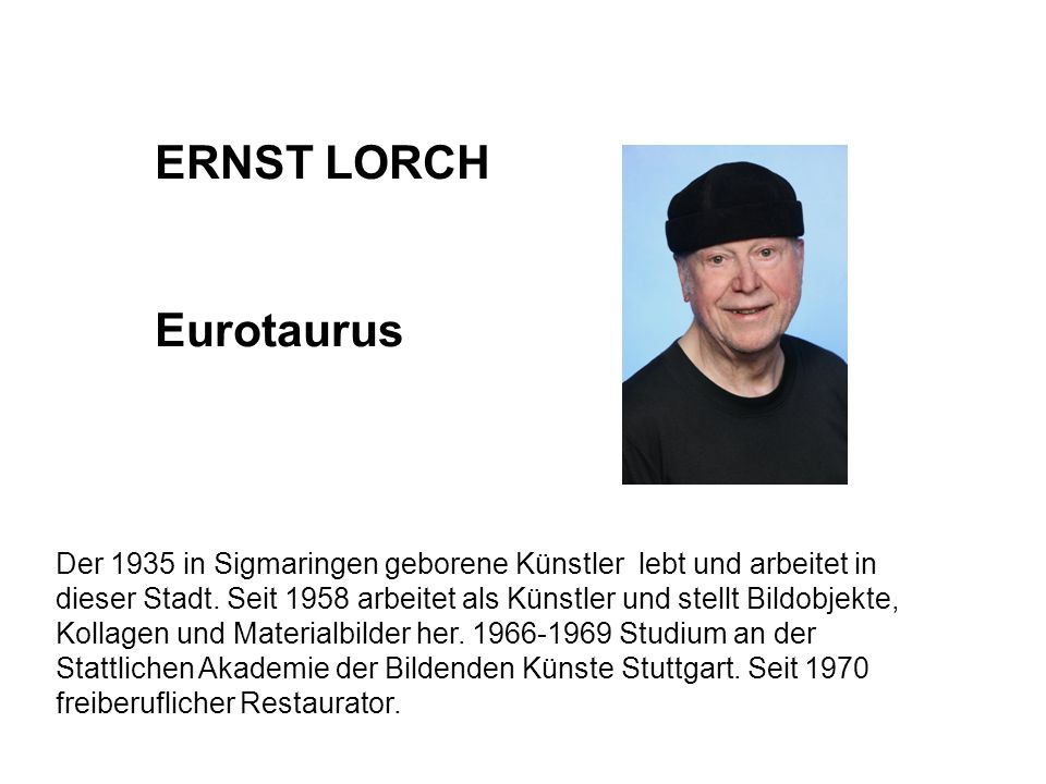 ERNST LORCH Eurotaurus