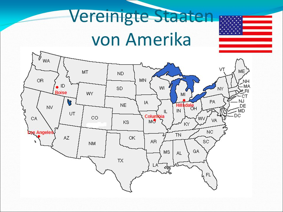Vereinigte Staaten von Amerika