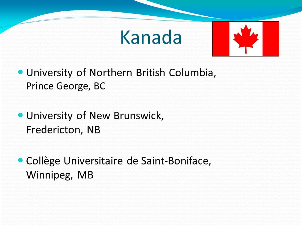 Kanada University of Northern British Columbia, Prince George, BC