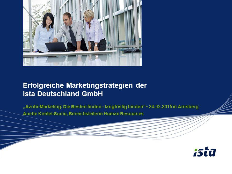 Erfolgreiche Marketingstrategien der ista Deutschland GmbH