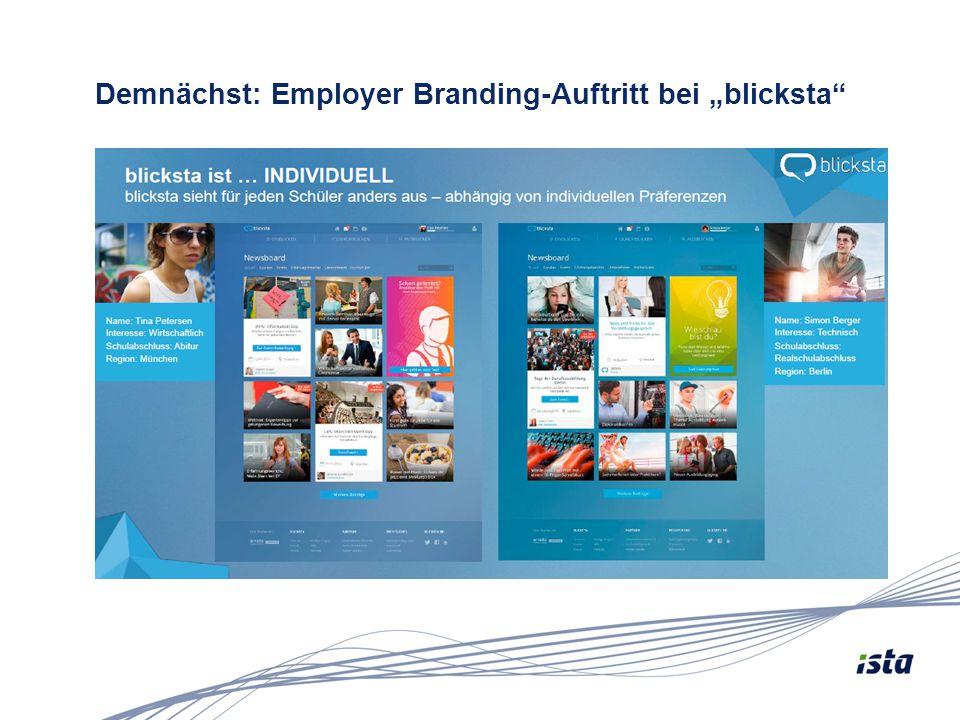"""Demnächst: Employer Branding-Auftritt bei """"blicksta"""