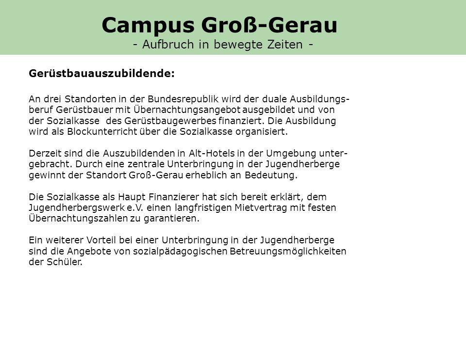 Campus Groß-Gerau - Aufbruch in bewegte Zeiten -