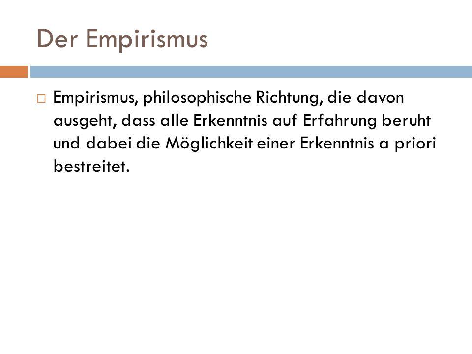 Der Empirismus