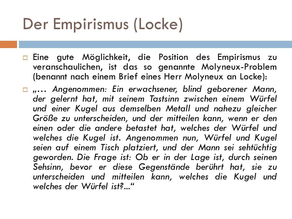 Der Empirismus (Locke)