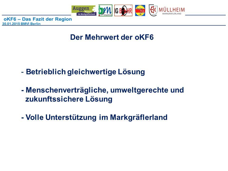 Der Mehrwert der oKF6