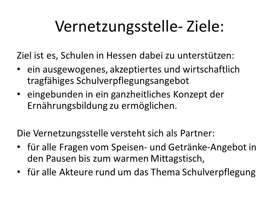 Vernetzungsstelle- Ziele: