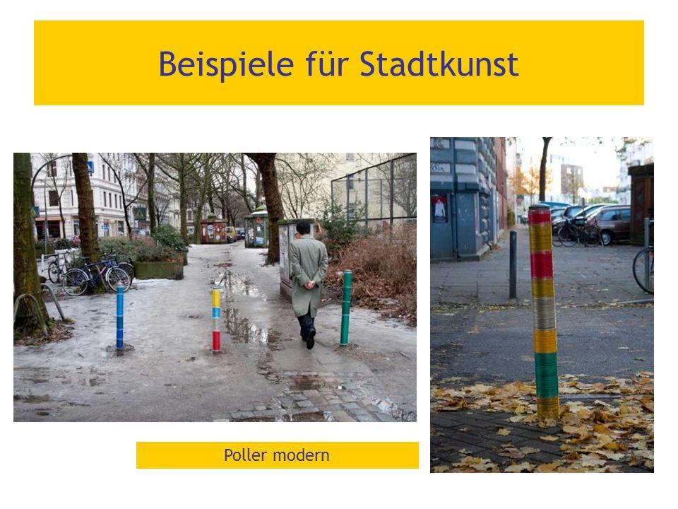 Beispiele für Stadtkunst