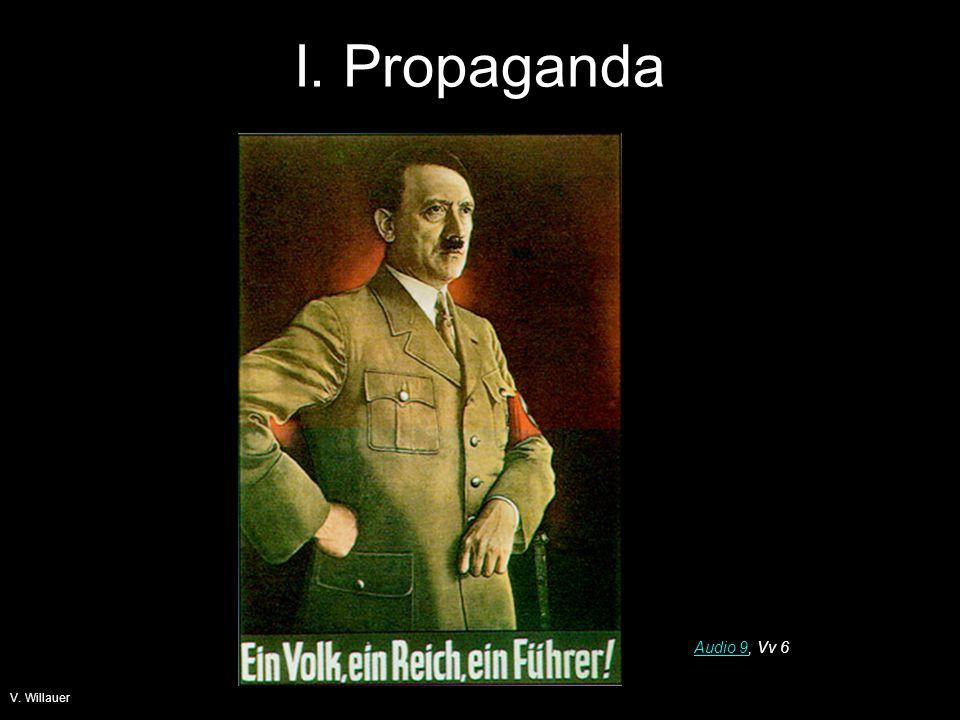 I. Propaganda Audio 9, Vv 6 V. Willauer