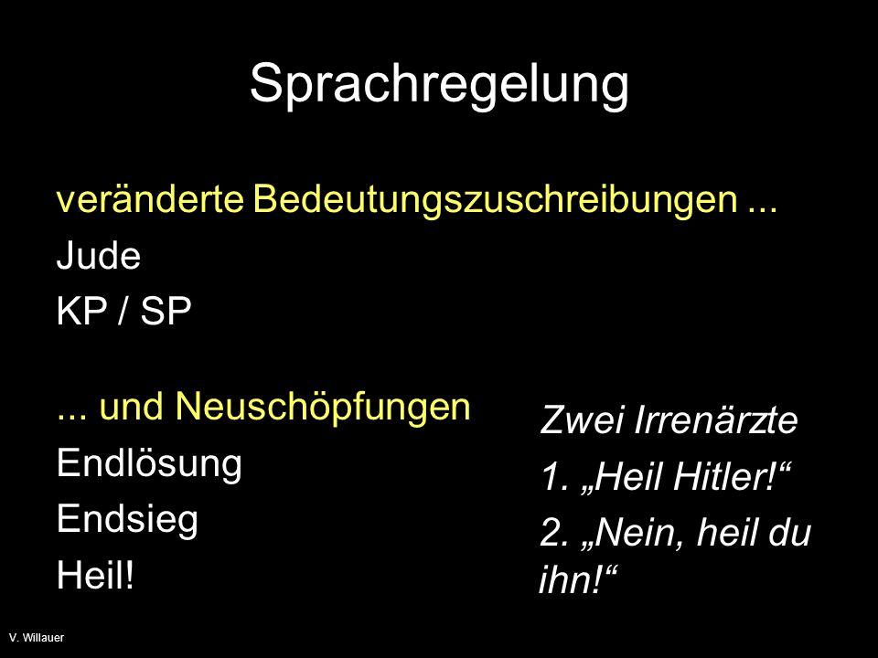 Sprachregelung veränderte Bedeutungszuschreibungen ...