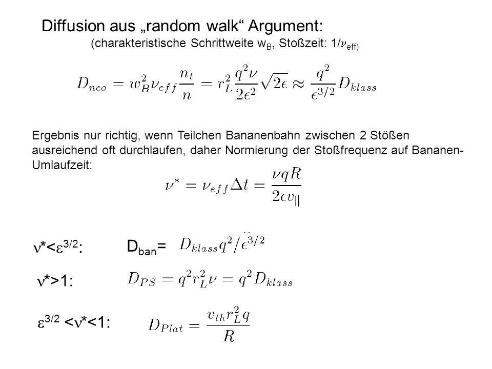 "Diffusion aus ""random walk Argument:"