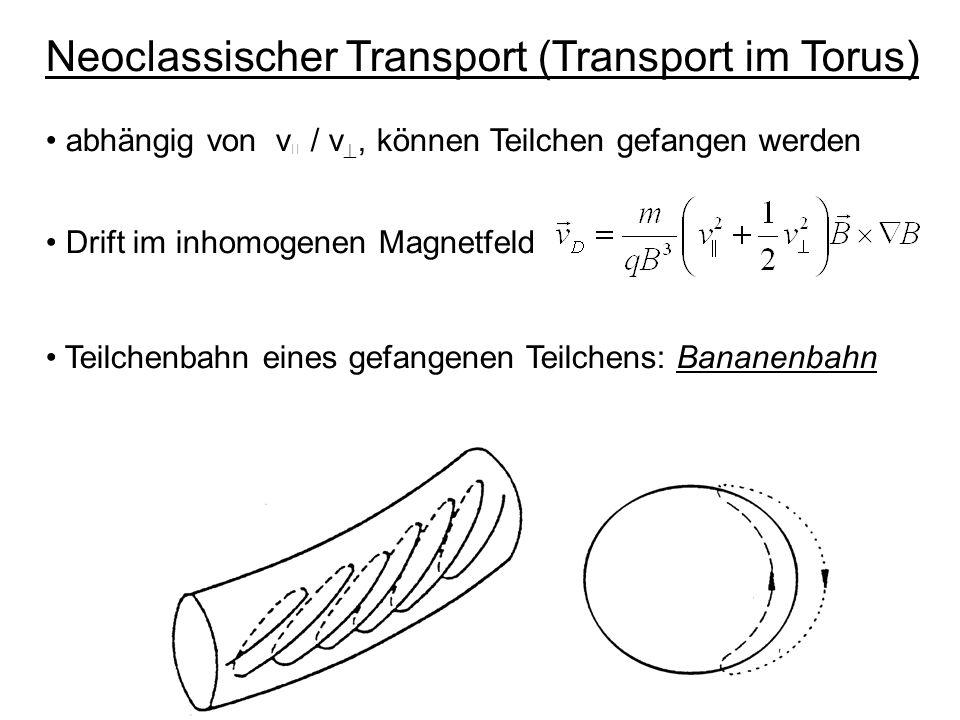 Neoclassischer Transport (Transport im Torus)