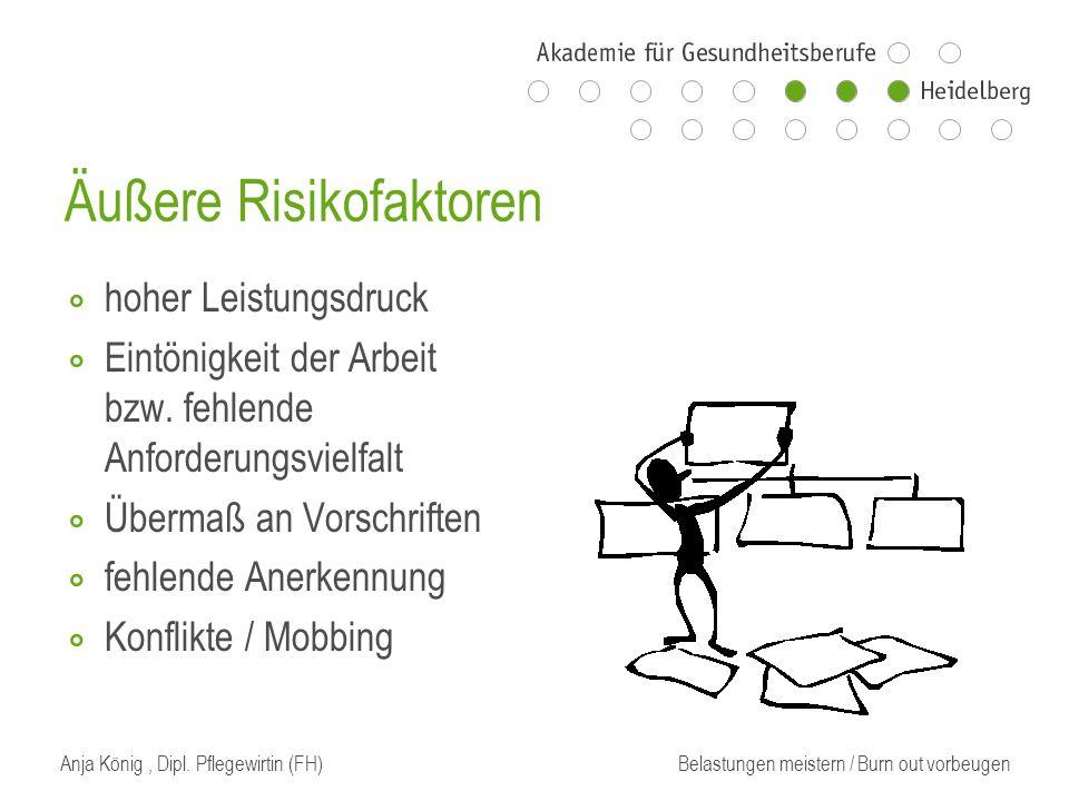 Äußere Risikofaktoren