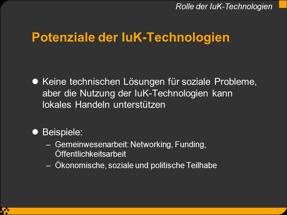 Potenziale der IuK-Technologien