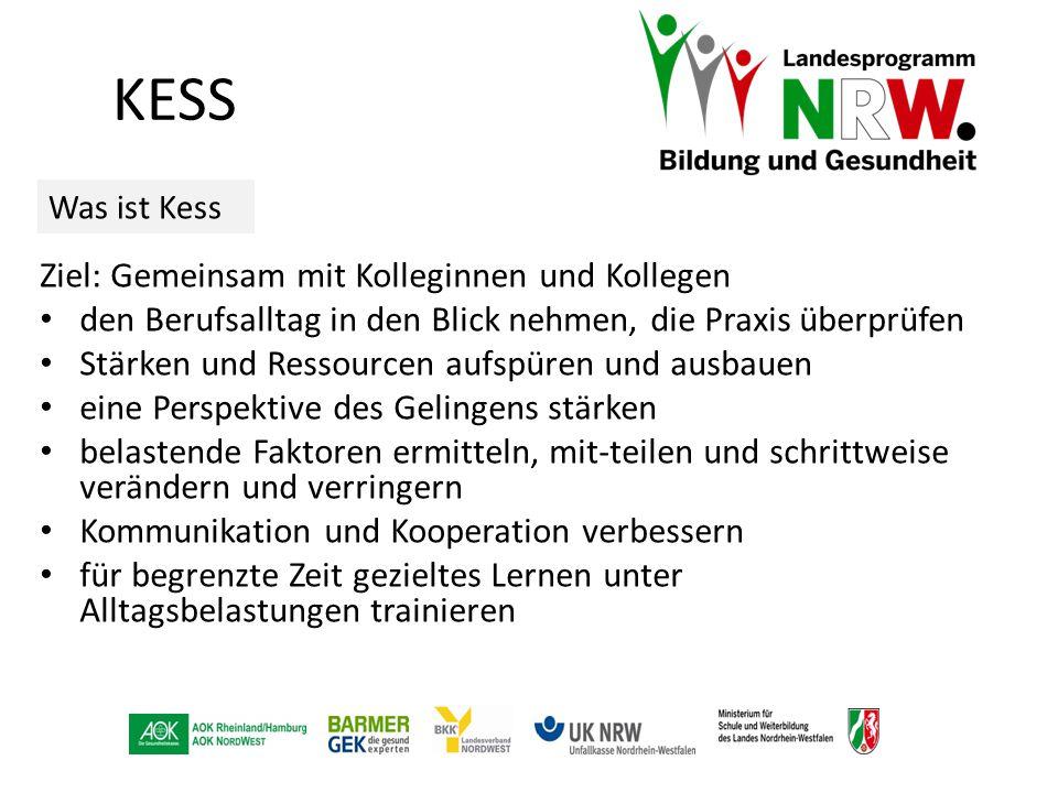 KESS Ziel: Gemeinsam mit Kolleginnen und Kollegen