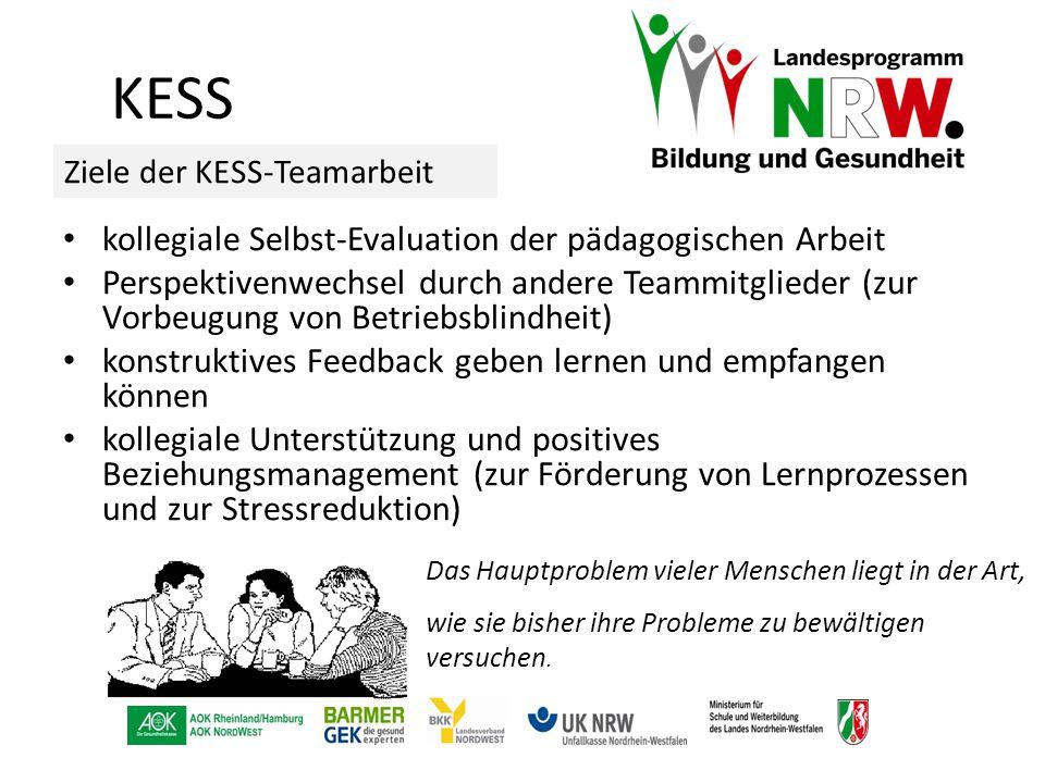 KESS kollegiale Selbst-Evaluation der pädagogischen Arbeit