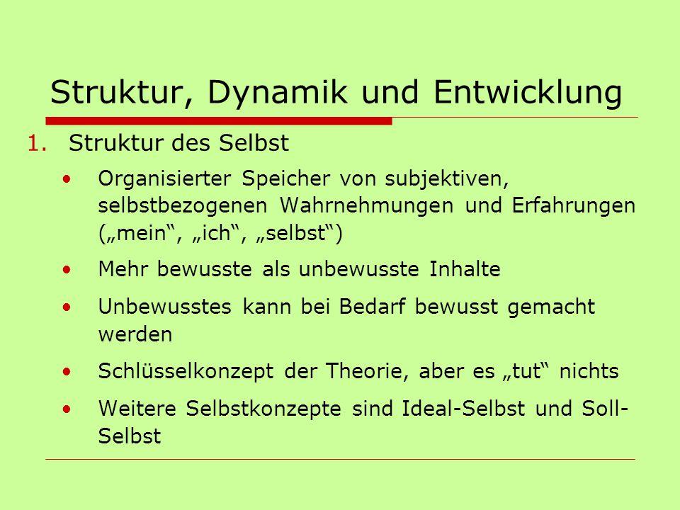 Struktur, Dynamik und Entwicklung