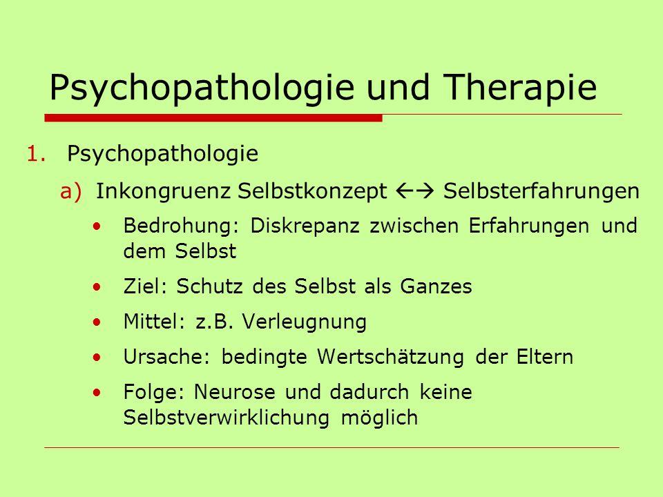 Psychopathologie und Therapie