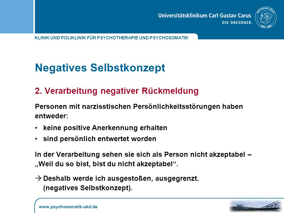 Negatives Selbstkonzept