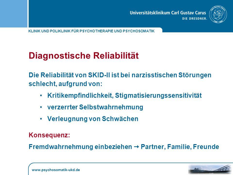 Diagnostische Reliabilität