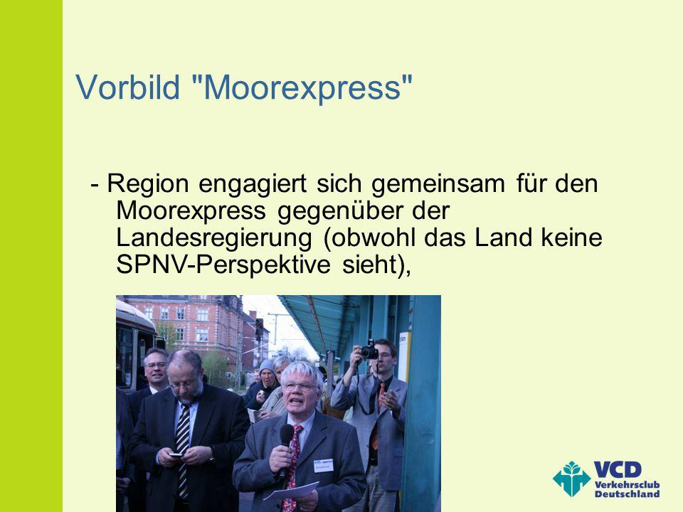Vorbild Moorexpress