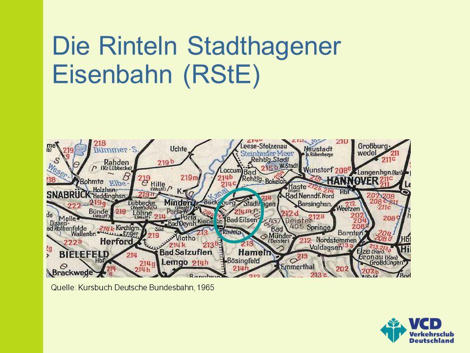 Die Rinteln Stadthagener Eisenbahn (RStE)
