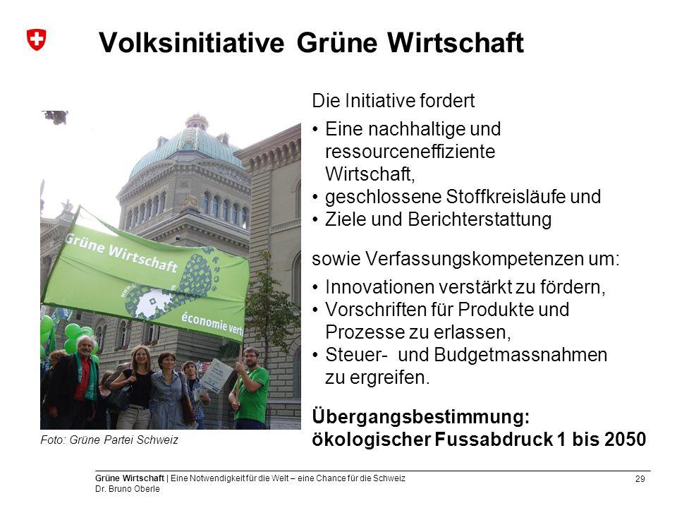 Volksinitiative Grüne Wirtschaft