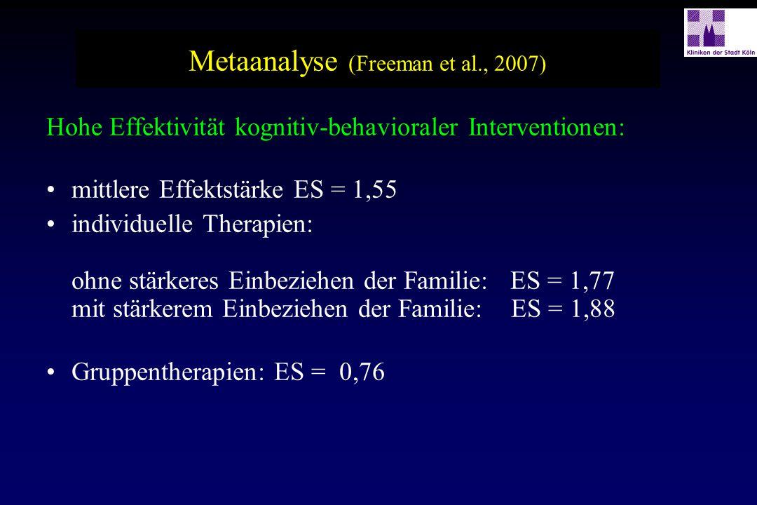 Metaanalyse (Freeman et al., 2007)