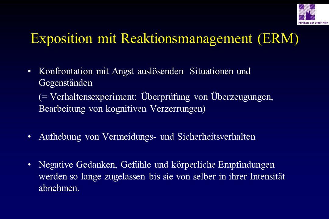 Exposition mit Reaktionsmanagement (ERM)