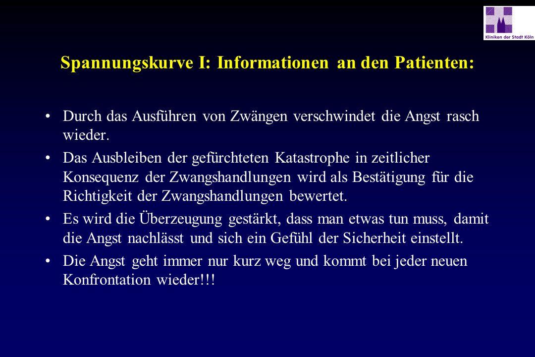 Spannungskurve I: Informationen an den Patienten: