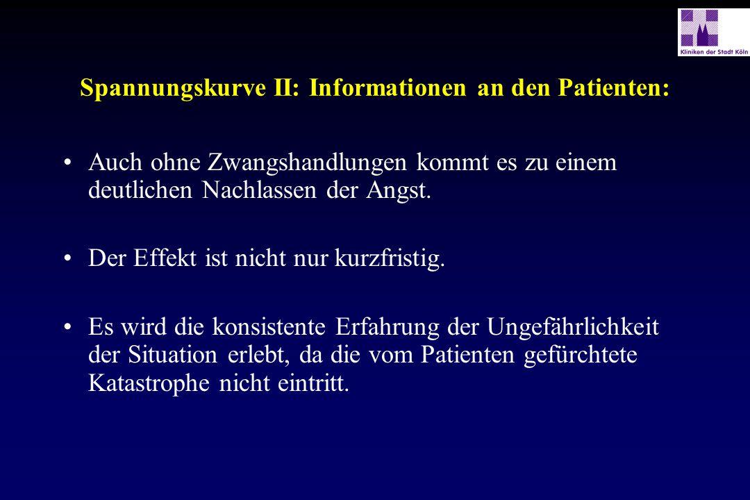 Spannungskurve II: Informationen an den Patienten: