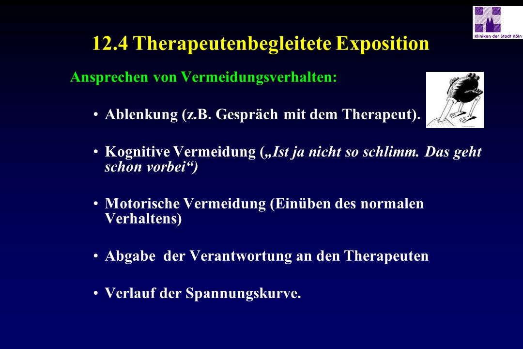 12.4 Therapeutenbegleitete Exposition