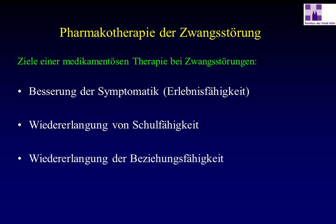 Pharmakotherapie der Zwangsstörung