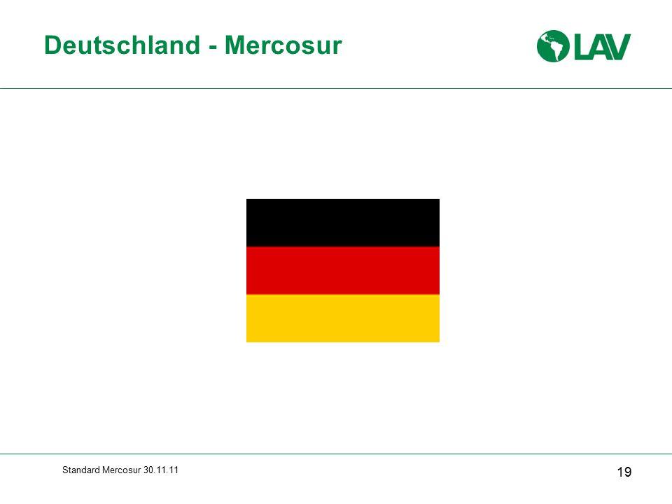 Deutschland - Mercosur