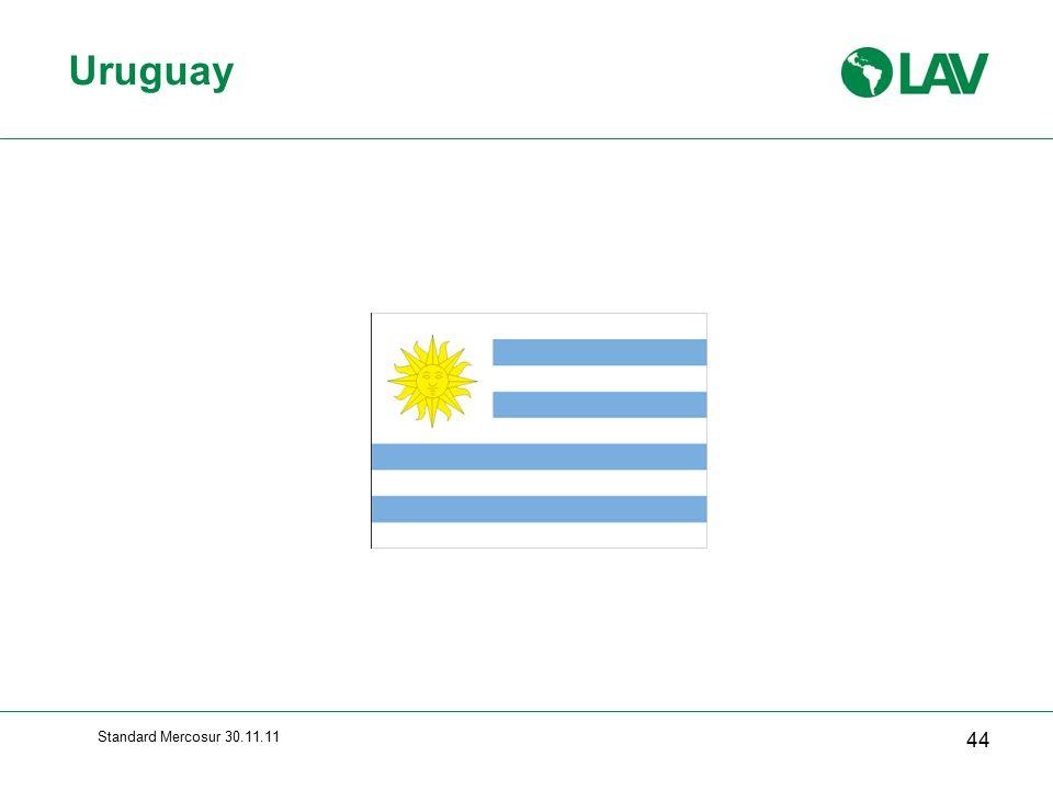 Uruguay Standard Mercosur 30.11.11