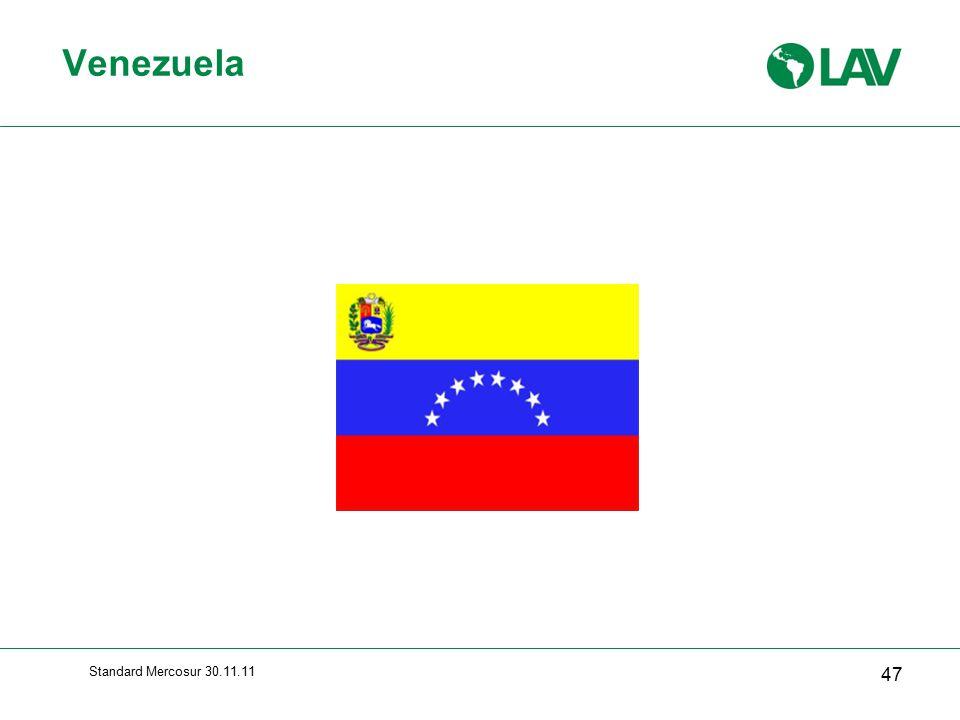 Venezuela Standard Mercosur 30.11.11