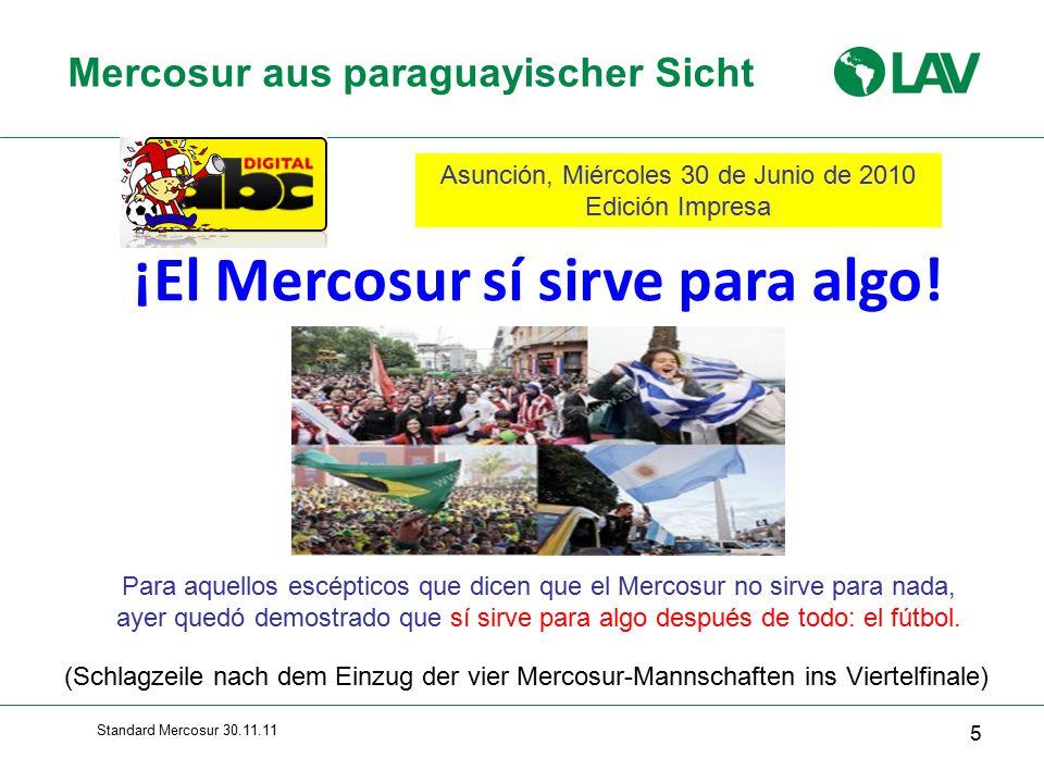 Mercosur aus paraguayischer Sicht
