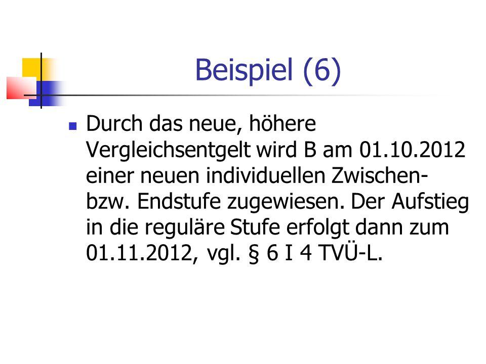 Beispiel (6)