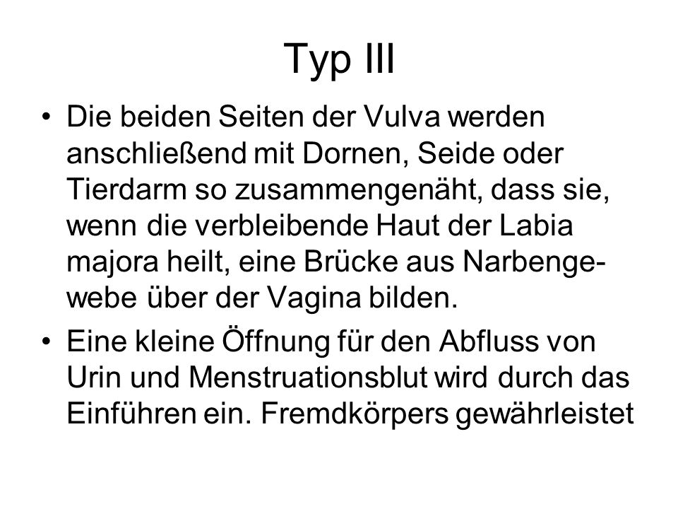 Typ III