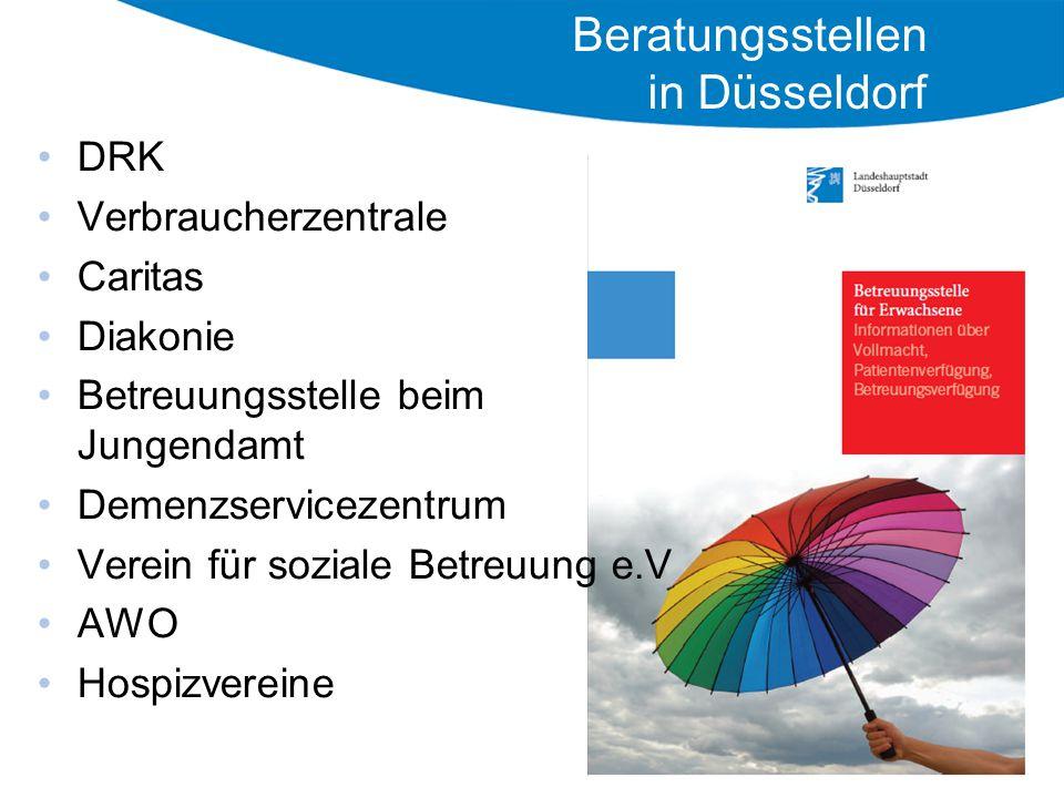 Beratungsstellen in Düsseldorf